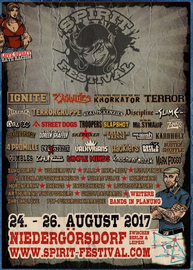 Spirit festival flyer